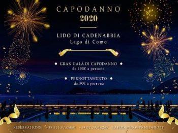 Lido di Cadenabbia Capodanno 2020 Lago di Como