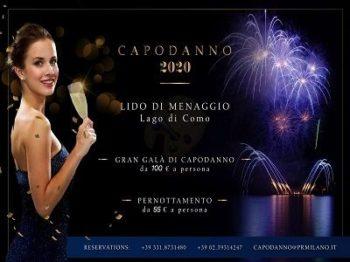 Lido di Menaggio Capodanno 2020 Lago di Como